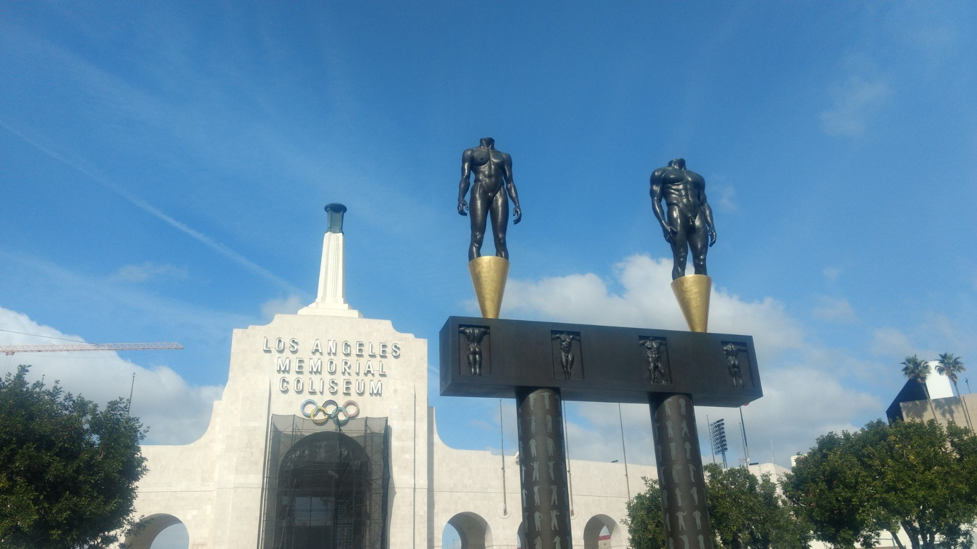 Checked in at Los Angeles Memorial Coliseum