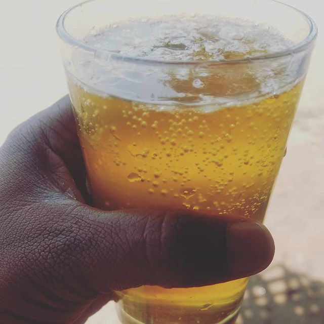 What you need on a hot summer day... A glass of cold sharbath...