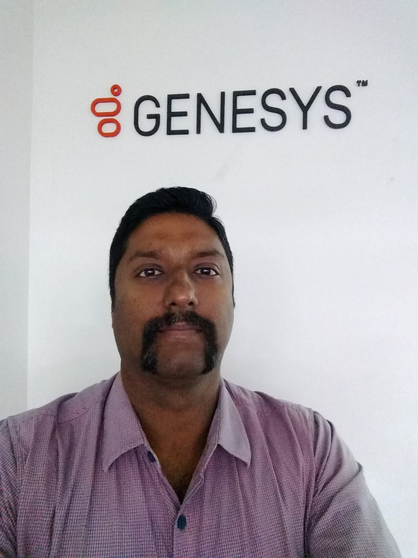 Checked in at Genesys Telecom Labs