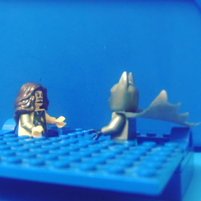 No, Batman. You cannot wear your cape when swimming. But..But it's waterproof, Aquaman... I promise...